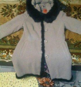Пальто зимнее состояние отличное