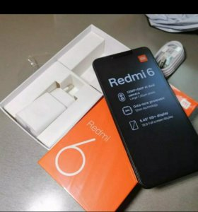 Xiaomi Redmi 6 Global, 3/32, новые