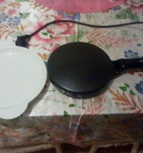 Delemano Utile Pancake Maker + ёмкость для теста