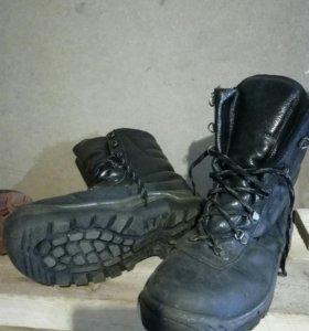 Ботинки высокие утепленные ж/д