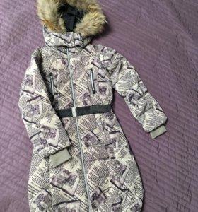 Пальто пух 134