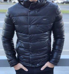 Куртка из экокожи EA7