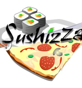 Продавец суши-роллов в Sushizza Market Arzamas