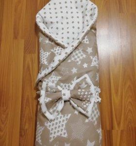 Одеяло - конверт на выписку