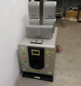 Комплект акустики BBK SP650S, система 5.1