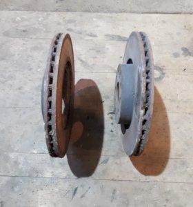 Диски тормозные передние пассат Б6