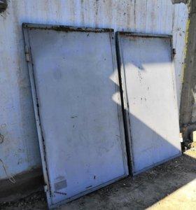 Ворота от гаража