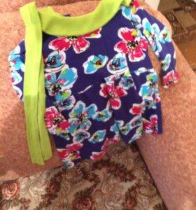 Платье и кофточка 6-18 месяцев