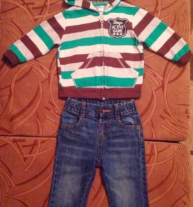 Одежда для мальчика 9-12 мес