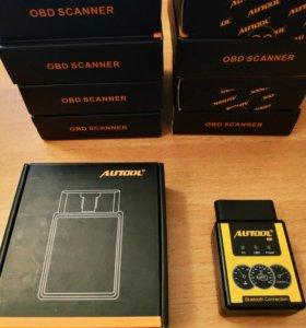 Obd2 сканер Autool новые версии 1.5 (elm327)