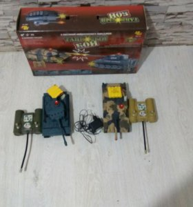 Танковый бой AB toys 58-10