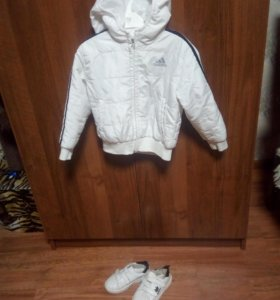 Куртка+кроссовки