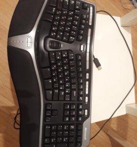 Клавиатура Microsoft Natural Ergonomic Keyboard