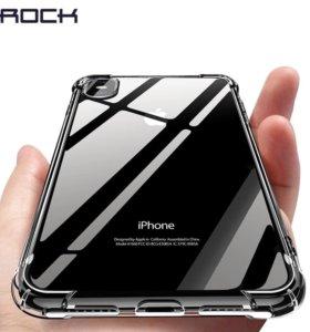 Новый прозрачный чехол Rock для iphone 6plus