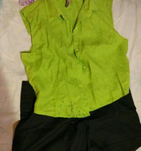 Рубашка и шорты по
