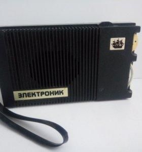 """Детский радиоприемник """"Электроник"""" СССР"""