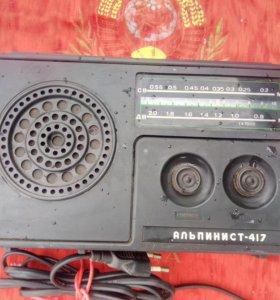 Радиоприёмник СССР альпинист-417