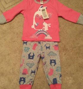 Пижамы crockid новые