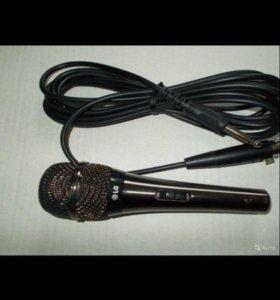 Микрофон lg jpc-1 для караоке