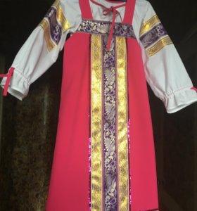 Платье Маши из мультфильма «Маша и медведь»
