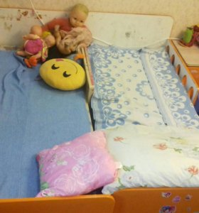 Кроватки вырастайки