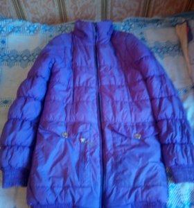 Куртка новая и пуховики бу