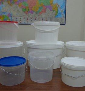 Пластиковые ведра от 1 до 20 литров