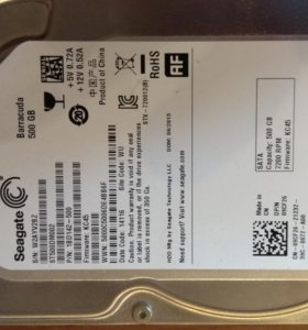 "Жесткий диск 3,5"" Seagate 500Gb"