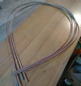 Трубка медная L- 200 см, диаметр 6 *1мм