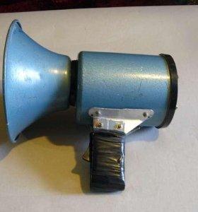 Мегафон уличный громкоговоритель типа ЭМ-7