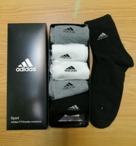 носки новые в коробке Adidas, Nike 6 пар