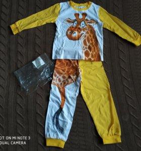 Новая пижама 98-104