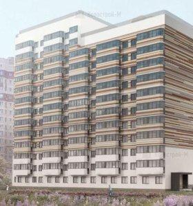 Квартира, 1 комната, 23.9 м²