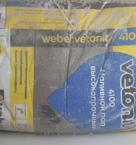 Наливной пол weber.vetonit 4100