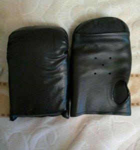 Кожаные Перчатки для занятий единоборствами