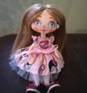 Кукла ручной работы новая. Торг.