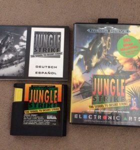 Jungle Strike для Sega Mega Drive