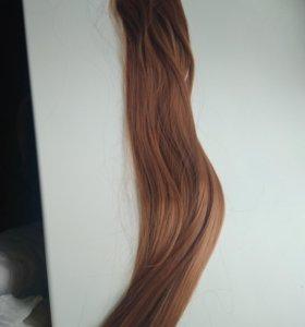 Новые пряди волос на заколках