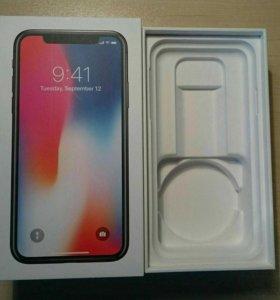 Коробка iPhone X 256Gb РСТ