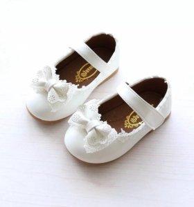 Туфельки для маленькой модницы.