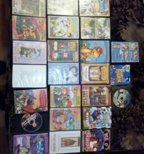Много классных мультфильмов