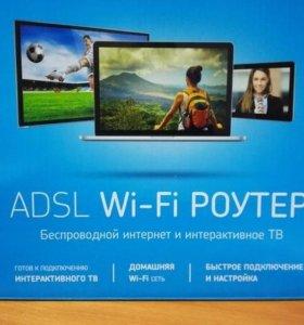 Adsl Wi-fi роутер, IP приставка, от bashtel