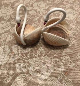 Сувенирные лебеди из Сочи