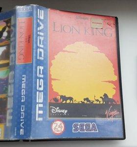 Оригинальные картриджи Sega Mega Drive