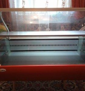 Витрина холодильная полюс ВХС-1.0 Арго настольная.