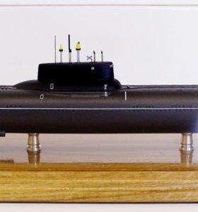 Макет ТРПКСН проекта 941 «Акула»