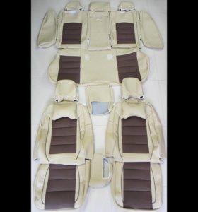 Комплект чехлов сидений на а/м Volvo XC70 II