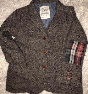 Шерстяной пиджак Zara +подарок