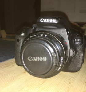 Canon 600d + объектив 50 мм 1.8