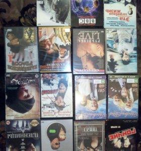 Фильмы,сериалы на dvd.